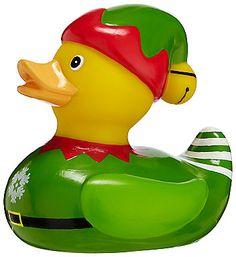 John Lewis elf rubber duck (£5)