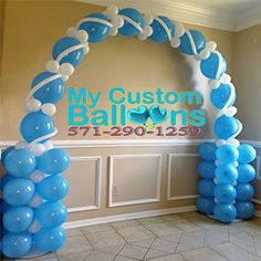 My Custom Balloons Balloon Tower, Balloon Columns, Balloon Garland, Balloon Arch, The Balloon, Balloon Decorations Party, Birthday Decorations, Party Themes, Balloons Galore