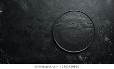 Black Plate On Black Stone Background Stock Photo (Edit Now) 1729030255 Free Space, Top View, Black Backgrounds, Room Inspiration, Vectors, Photo Editing, Royalty Free Stock Photos, Plate, Stone