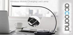"""A Wireless Mobile Charging LED Lamp """"Accoona"""""""