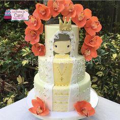 """5,675 curtidas, 81 comentários - @cassianedorigon (@ideiasdebolosefestas) no Instagram: """"E o boa noite de hoje vai com este bolo lindo de @lospostresdecarol. Um trabalho lindo e delicado.…"""""""