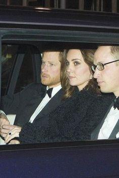 Kate Middleton wearing Alexander McQueen Metallic Tweed Coat and Diane von Furstenberg Zarita Lace Gown