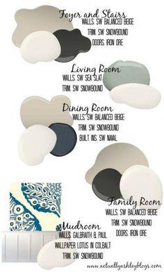 House Paint Wall Color Schemes Ideas For 2019 Paint Color Schemes, Wall Paint Colors, Interior Paint Colors, Paint Colors For Home, House Color Schemes Interior, Best Paint For Walls, Home Color Schemes, Magnolia Paint Colors, Basement Wall Colors