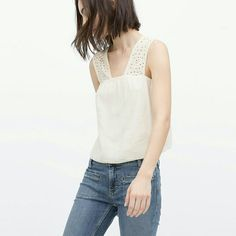 Clearout sale! Zara top Super cute. Brand new  Reduced from $49. Price is firm!!! No offers please. Zara Tops