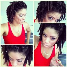 Click the image for Joiya's natural hair photos and regimen.