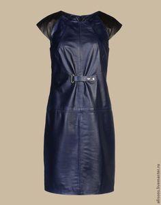 Купить Платье Даллас из кожи натуральной - однотонный, кожаное платье, кожаная юбка, натуральная кожа Winter Collection, Dresses For Work, Shorts, Sewing, Leather, Style, Fashion, Outfits, Vestidos