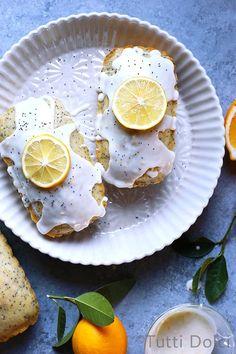 meyer lemon poppy seed loaf cakes @FoodBlogs