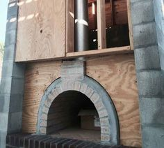 Yeah… You know this outdoor pizza oven is in Florida!  A fantastic brick oven with Sonny Crockett's seal-of-approval!  Well Done Albert Family!  To see more pictures of this oven (and many more ovens), please visit - BrickWoodOvens.com
