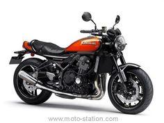 Motos Kawasaki, Kawasaki 900, Kawasaki Motorcycles, Cars And Motorcycles, Kawasaki Vulcan, Motorcycle Types, Motorcycle Art, Honda Cb 1100, Modern Cafe Racer