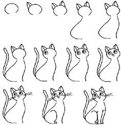 cool easy drawings for kids step by step - Google Search