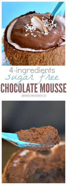 Sugar free chocolate mousse