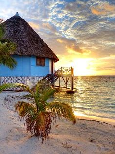 turneffe belize  // Blackbird Caye Basically the view from our cabana last week, beautiful remote Caribbean island getaway!