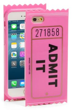 kate spade new york 'admit it' iPhone 6 & 6s case available at #Nordstrom