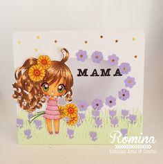 Latinas Arts and Crafts: Reto 54 A mamá díselo con flores
