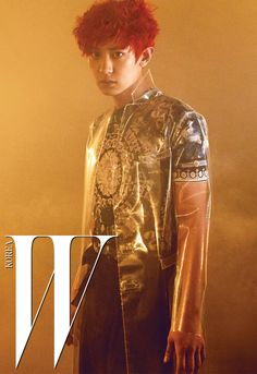Chanyeol (찬열) for W Korea - Photograph by Yoo Young Kyu