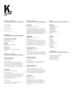 Kenji's Resume - Kenji's Portfolio