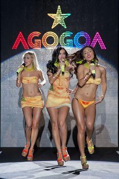 Agogoa at Milan Fashion Week Spring 2013 Bikini Swimwear, Bikinis, Cinema, Celebs, Celebrities, Blue Fashion, Girl Crushes, Beachwear, Hot Girls