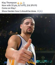 Klay Thompson Basketball Memes, Sports Basketball, Basketball Players, Nba Players, Clay Thompson, Golden State Basketball, Curry Warriors, African American Men, Nba Champions