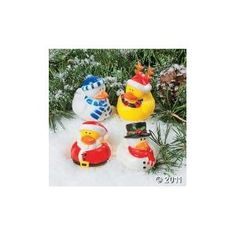 Christmas Holiday Rubber Ducky - 12 Count --- http://www.amazon.com/Christmas-Holiday-Rubber-Ducky-Count/dp/B000E8S9WO/?tag=onestopsho0ec-20