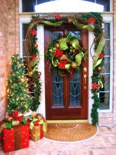 christmas entrance!