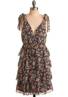 Entrancing April Dress