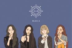 Wholesome Pictures, Dog Comics, Mamamoo Moonbyul, Bts Girl, Kpop Posters, Solar Mamamoo, Kpop Drawings, Chibi Girl, Girl And Dog