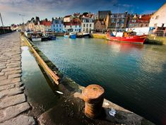 Pittenweem Harbour - Went to a little fish-n-chips shop here