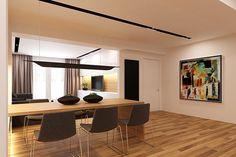 Textbook Contemporary: Eco Apartment by Grosu Art Studio