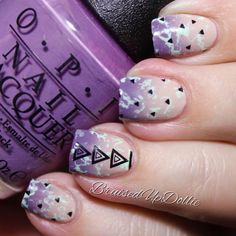 Nail art created by #Bruisedupdollie using our #BMCYO2014 nail plate collection #nailstamp #ShopBM