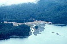tenakee inlet alaska | kleine rivier met delta, Tenakee, Zuidoost Alaska NOOA, America's ...
