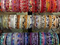 Lily and Laura bracelets are hand-crocheted by women in Nepal who are now able to support their families with fair wages.