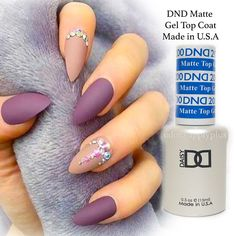 $11.99 - Dnd Matte Gel Top Coat - Usa Made - .5 Fl Oz #ebay #Fashion