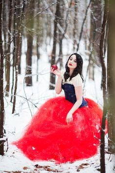 Snow White Fashion Photography | Jessica