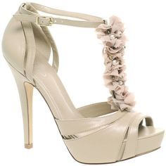 Aldo Agans Ruched T-Bar Platform Heeled Sandal (1,550 MXN) ❤ liked on Polyvore featuring shoes, sandals, heels, sapatos, zapatos, women, aldo shoes, platform shoes, platform heel sandals and t strap sandals