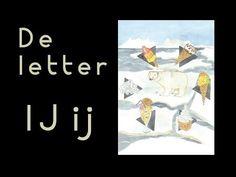 abcKRINGBOEKJE De letter IJ - YouTube Letter School, Letter Of The Week, Letter J, Learning The Alphabet, Good Company, Spelling, Preschool, Film, Movie