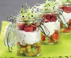 Billedresultat for salat i glas