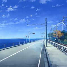 Tapete – Master Anime Ecchi Bild Tapeten City Anime Tapeten Imagen Scenery Orig … # in HD Episode Backgrounds, Anime Backgrounds Wallpapers, Anime Scenery Wallpaper, Animes Wallpapers, Iphone Wallpapers, Anime Landscape, Landscape Art, Aesthetic Art, Aesthetic Anime