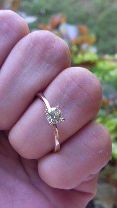 561c6917d8bf Las 44 mejores imágenes de Anillos de compromiso con Diamante Natural