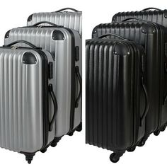 Travel Suitcase Luggage Set 3 Bag Case Baggage Trolley Lightweight Extra Strong
