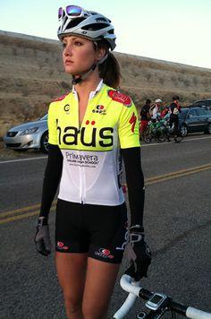 Pro cyclist Alexandra Graebe. Just because. #fitspiration