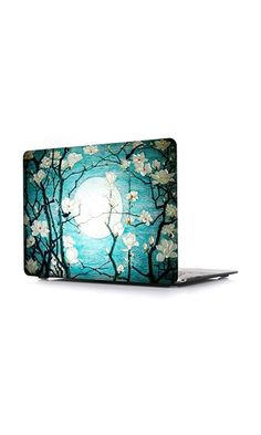 59.99$ - iCasso 3D Printing New Art Fashion Image Series Ultra Slim Light Weight Rubberized Hard Case Glossy Clear Crystal Snap-On Hard Cover Case for MacBook Air 13 (Model: A1369 and A1466) - Cherry Blossom from iCasso- <p><b>CASE COMPATIBLE with Apple Macbook <b>Air 13 :</b></b></p> <p>Model - A1369<br> MC503LL/A- MC504LL/A- MC965LL/A- MC966LL/A</p> <p>Model - A1466<br> MD760LL/A- MD761LL/A- MD231LL/A- MD232LL/A</p> <p><b>Case NOT compatible(click on picture to read more...)