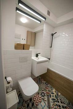 styl , w kategorii Łazienka zaprojektowany przez Och_Ach_Concept Washroom Design, Bathroom Design Small, Grey Bathrooms, Beautiful Bathrooms, Cosy Interior, Interior Design, Bathroom Renovations, Apartment Design, Bathroom Inspiration