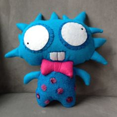 Sacka the Rockstar by BKLNBOLD on Etsy, $55.00