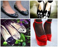 Zapatos gatos