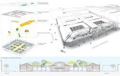 Galería de Laboratorio para la ciudad. Transformación del Mercado de Montería en contexto con su Centro Histórico - 3