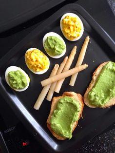 Mes Articles Du Jour: Recette œufs mimosa guacamole