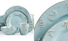 Cape Cod 16-Pc. Set, Service for 4 | Cod, Pottery and Dinnerware