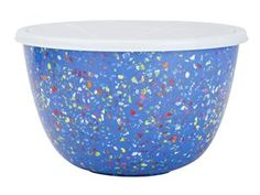 #holidaycooking Bluebell 3-qt. Confetti Serving Bowl with Lid by Zak! Designs by Zak! Designs at Cooking.com $19.95