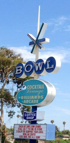 SURF BOWL OCEANSIDE, CA What Is Great, Surfs, Bowling, Arcade, Coffee Shop, Places Ive Been, Cocktails, California, Board