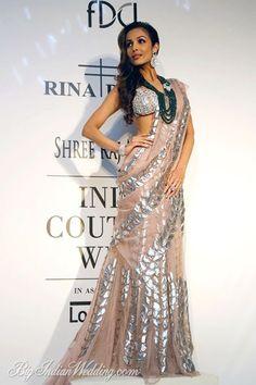 Malaika Arora Khan for Rina Dhaka at ICW 2014